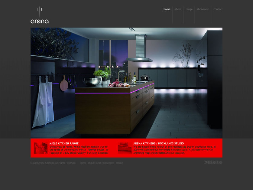 A great web design by Between Studio, San Francisco, CA: