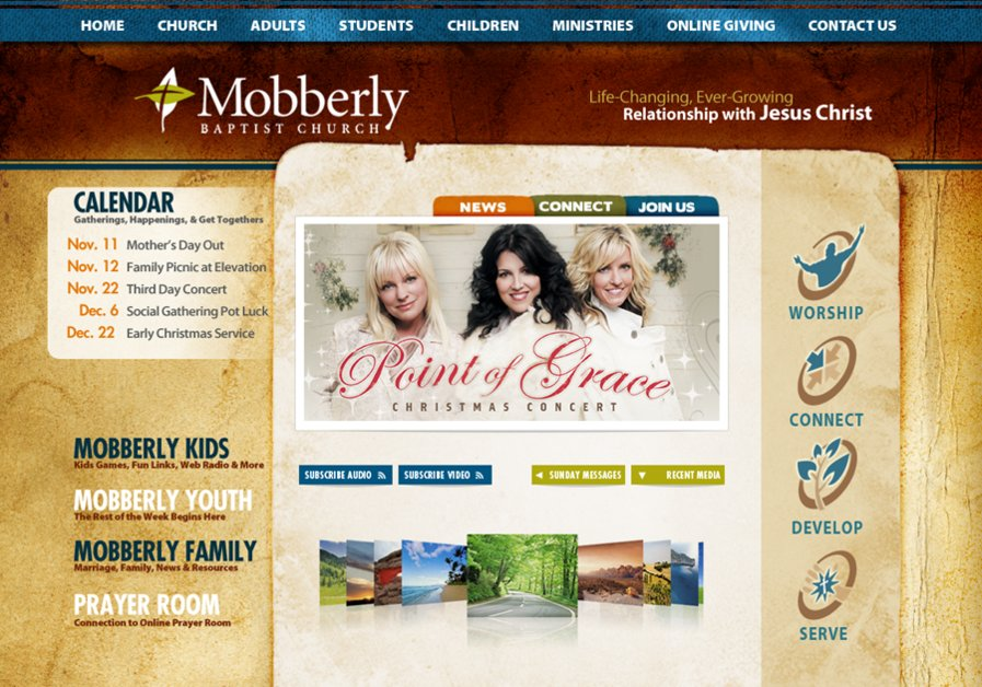 A great web design by Key Creative, Longview, TX: