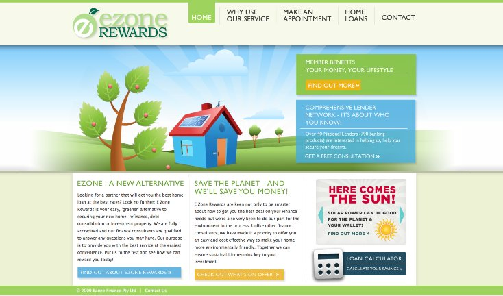 A great web design by Loud & Clear Creative, Melbourne, Australia:
