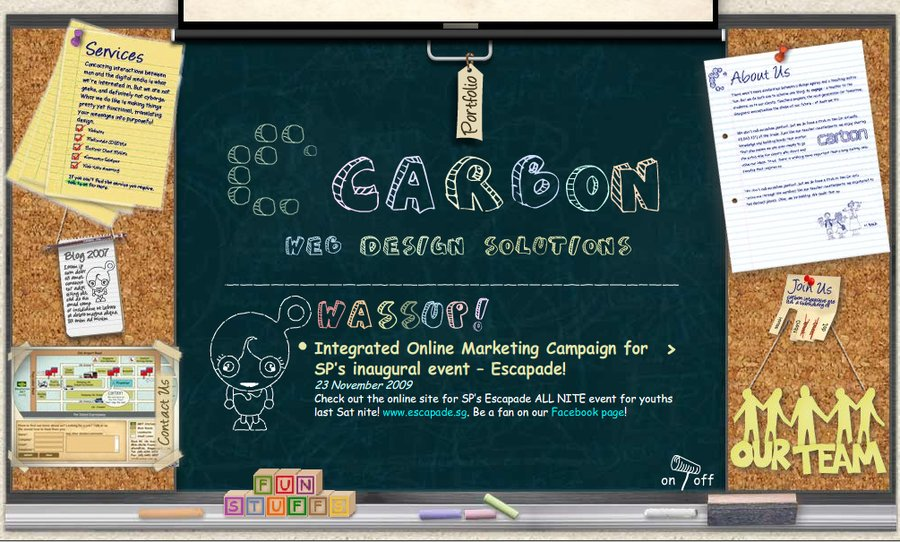 A great web design by Carbon Interactive , Singapore, Singapore: