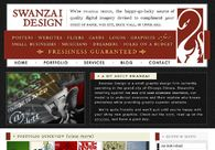 A great web design by Swanzai Design, Chicago, IL: