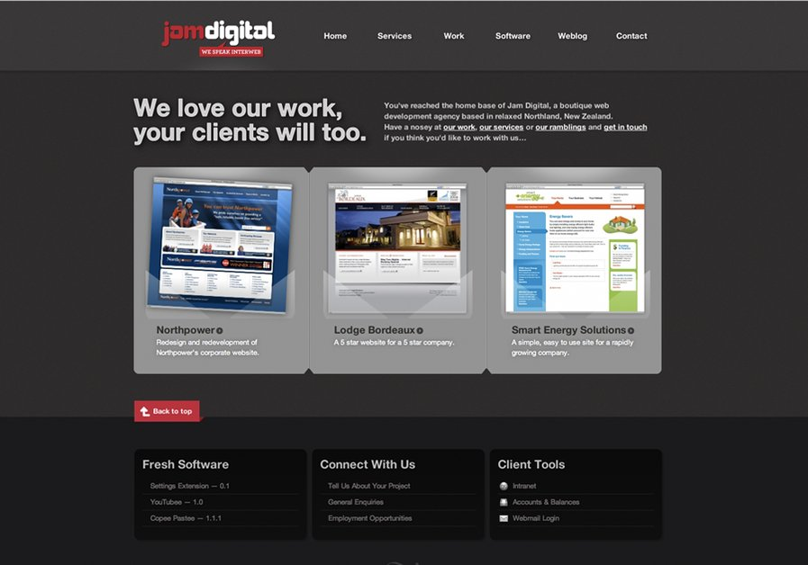 A great web design by Jam Digital Limited, Whangarei, New Zealand: