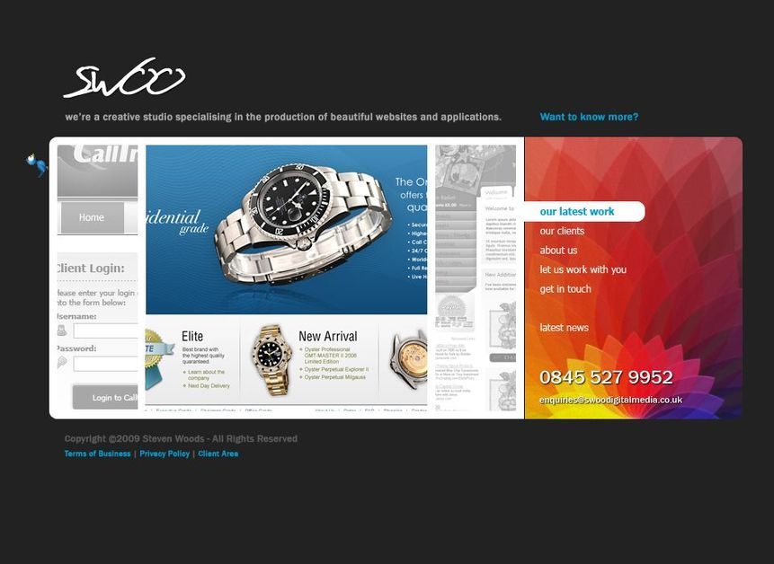 A great web design by SWOO Digital Media, Newcastle, United Kingdom: