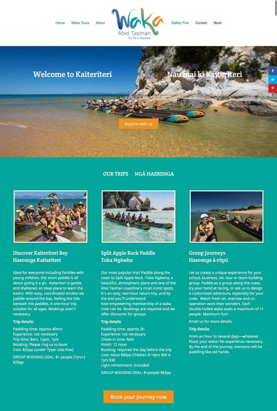 A great web design by Avoca Web Design, Nelson, New Zealand: Responsive Website, Marketing Website , Sports & Fitness , Wordpress
