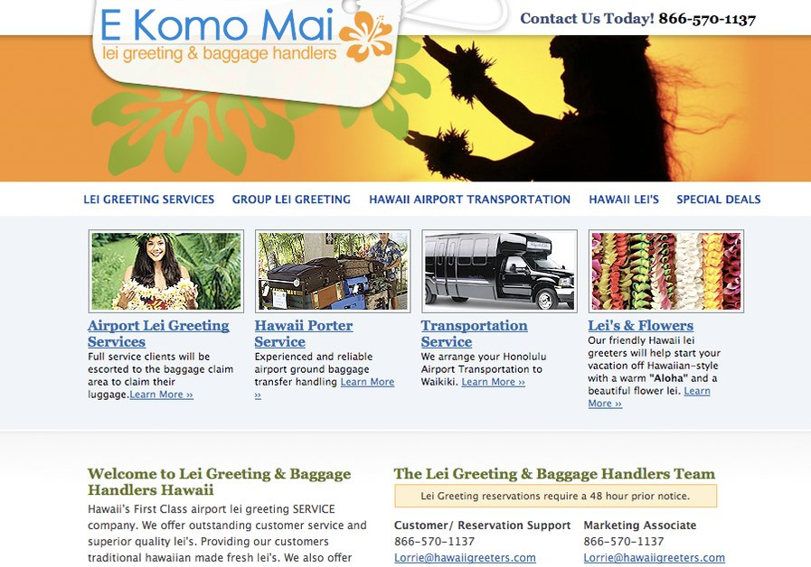 A great web design by Maple Designs Hawaii, Honolulu, HI: