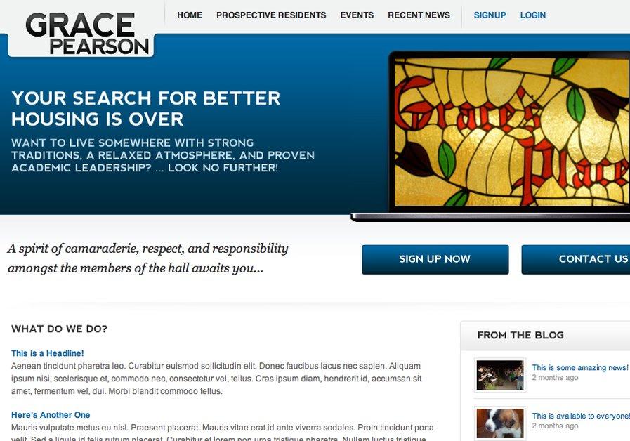 A great web design by NoahHendrix.com, Lawrence, KS: