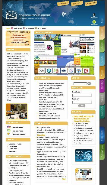 A great web design by prits, Indore, India: