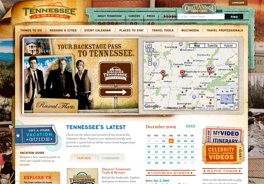 A great web design by Designsensory, Knoxville, TN: