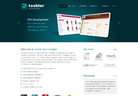A great web design by Toobler Technologies, Kochi, India: