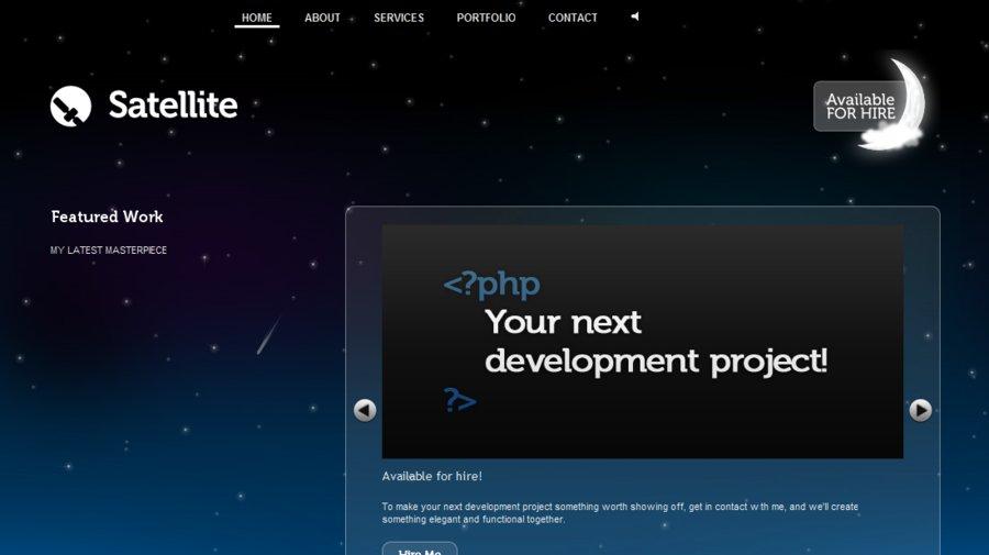 A great web design by Satellite, Hobart, Australia: