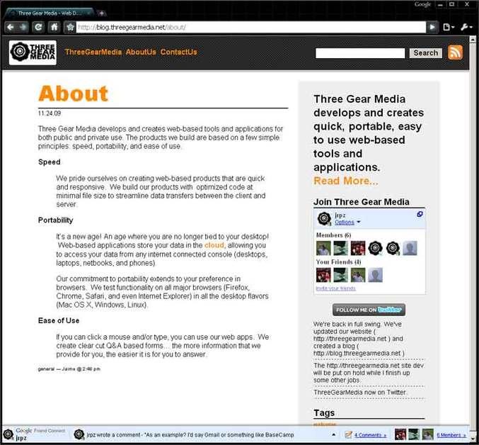 A great web design by Three Gear Media, McAllen, TX: