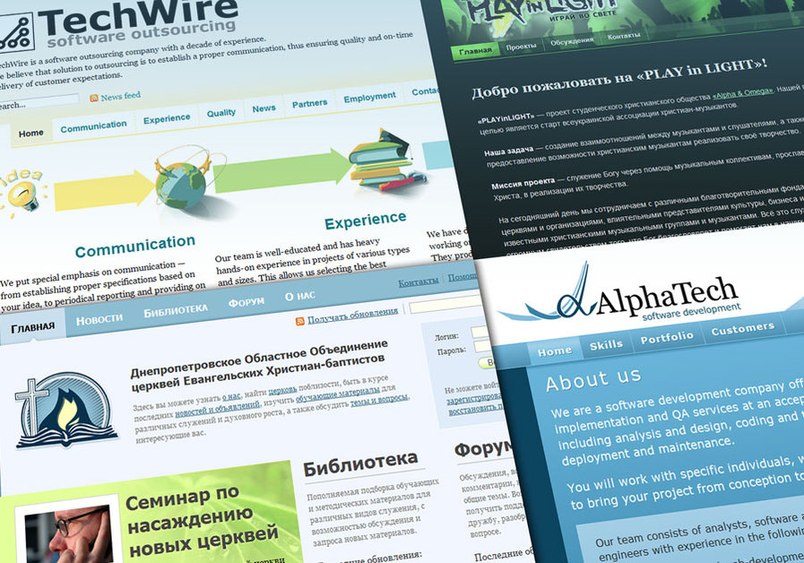 A great web design by TechWire, Dnepropetrovsk, Ukraine: