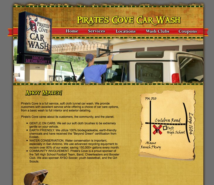 A great web design by Image Freedom, San Antonio, TX: