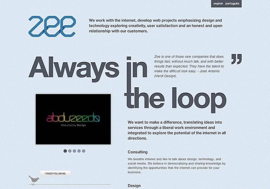 A great web design by Zee, Porto Alegre, Brazil:
