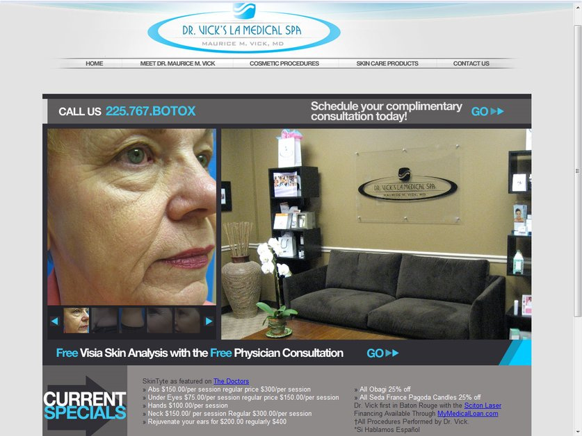 A great web design by Definition Systems, Los Angeles, CA: