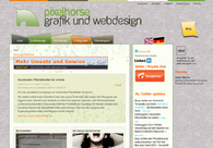 A great web design by pixelhorse, Munich, Germany: