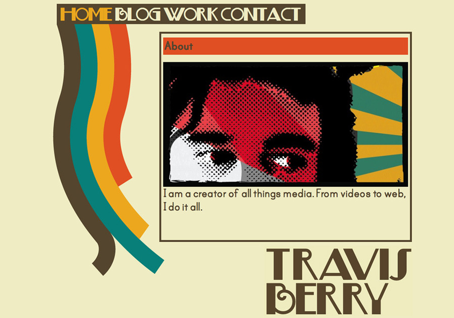 A great web design by Travis Berry, Denver, CO: