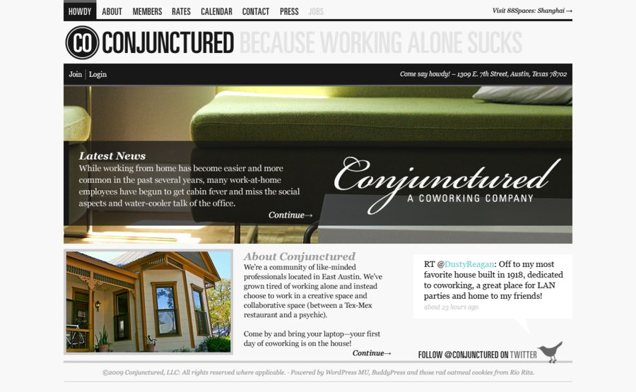 A great web design by kumulus, San Francisco, CA: