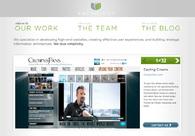 A great web design by Anthology Creative, Nashville, TN: