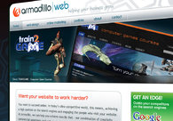 A great web design by Armadillo Web, Milton Keynes, United Kingdom: