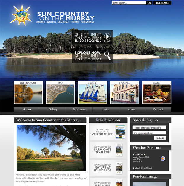 A great web design by VDP Websites, Shepparton, Australia:
