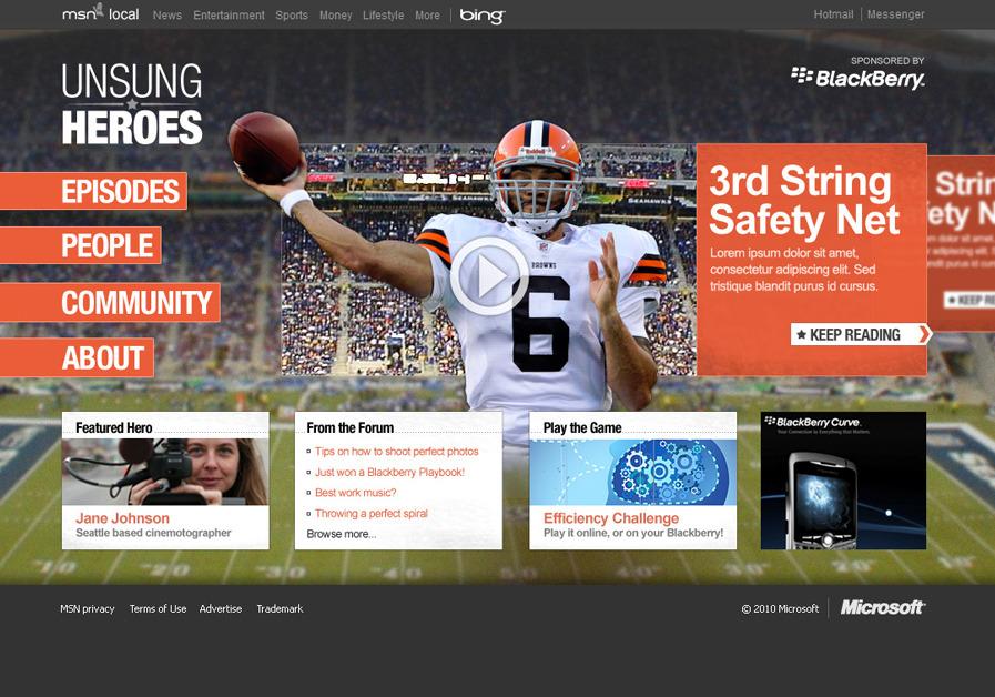 A great web design by ZAREMBA, Seattle, WA: