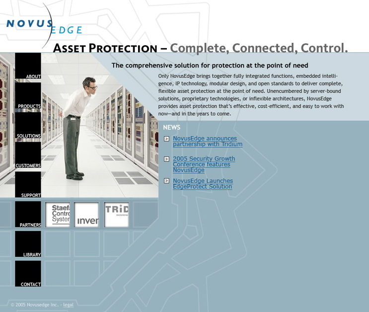 A great web design by Agave Design, Austin, TX:
