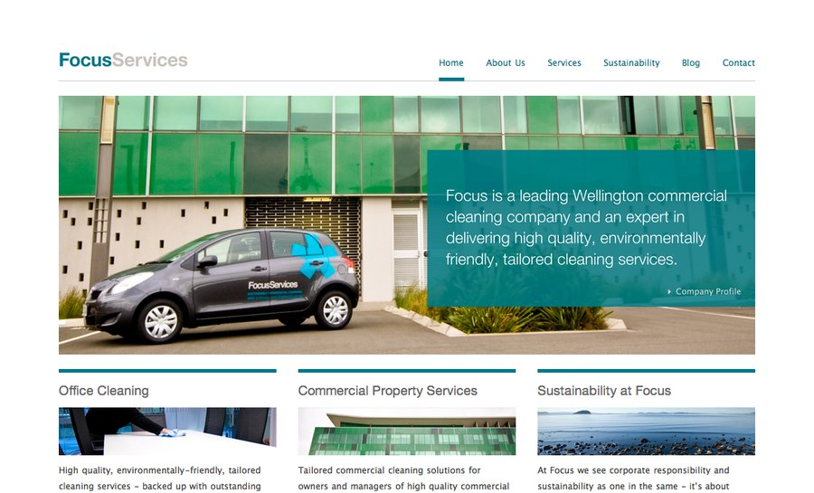 A great web design by Jamie Wilson, Wellington, New Zealand: