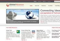 A great web design by Global Advances, Beijing, China: