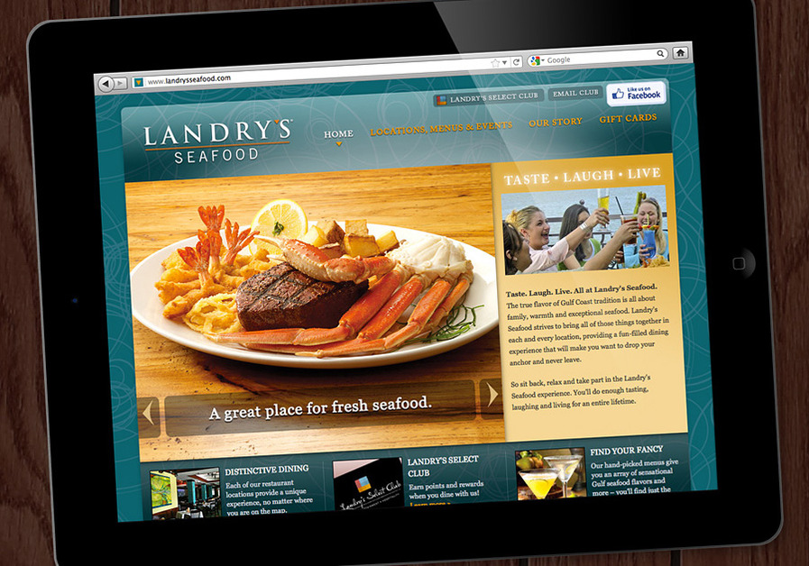 A great web design by Valiant Media, Inc., Dallas, TX: