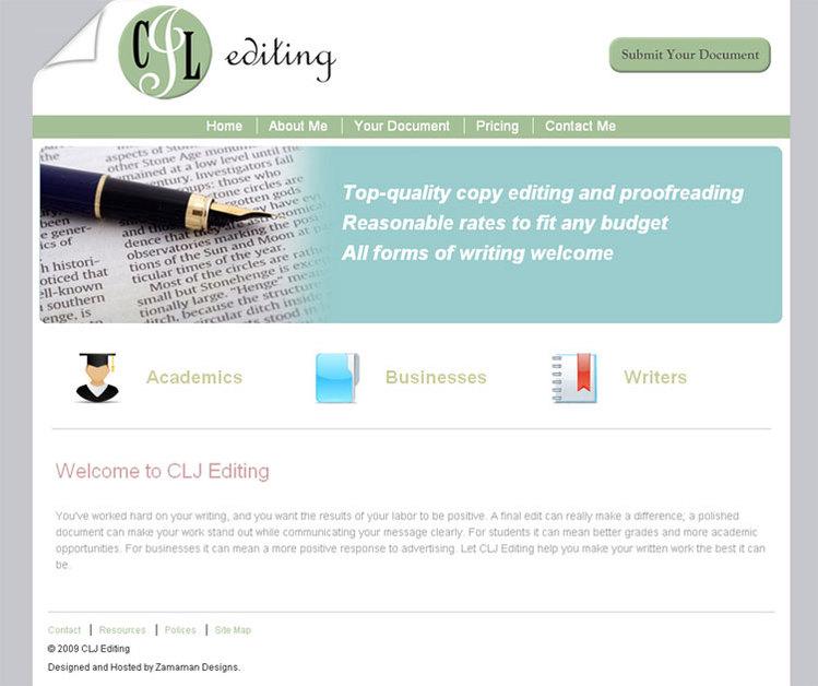 A great web design by Zamaman Designs, Asheville, NC: