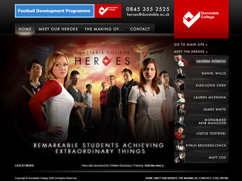 A great web design by Provide Design Ltd., Milton Keynes, United Kingdom: