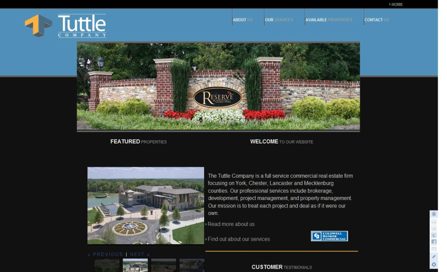 A great web design by RevenFlo, Charlotte, NC: