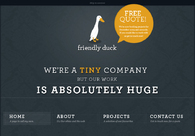 A great web design by Friendly Duck, Manchester, United Kingdom: