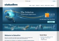 A great web design by Statusfirm, Edmonton, Canada: