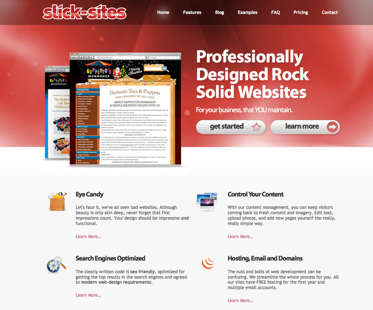 A great web design by Slick-Sites.com, Melbourne, Australia: