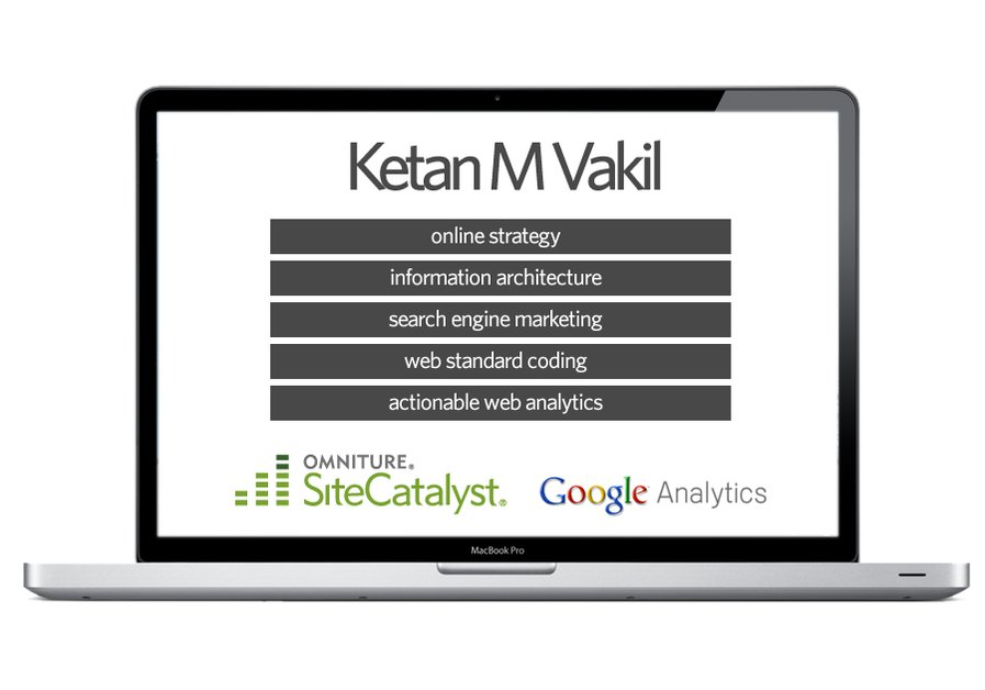 A great web design by Ketan M Vakil - Online Marketing, New York, NY:
