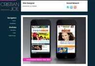 A great web design by Cristian Joe, New York, NY: