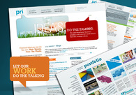 A great web design by PRI , New York, NY: