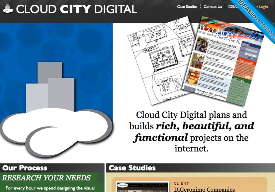 A great web design by Cloud City Digital, Toledo, OH: