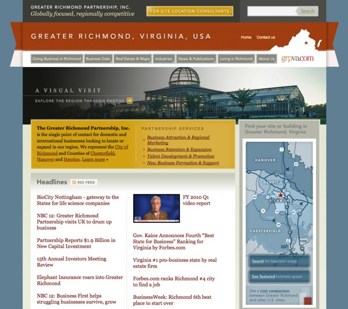 A great web design by Rick Whittington Consulting, Washington DC, DC: