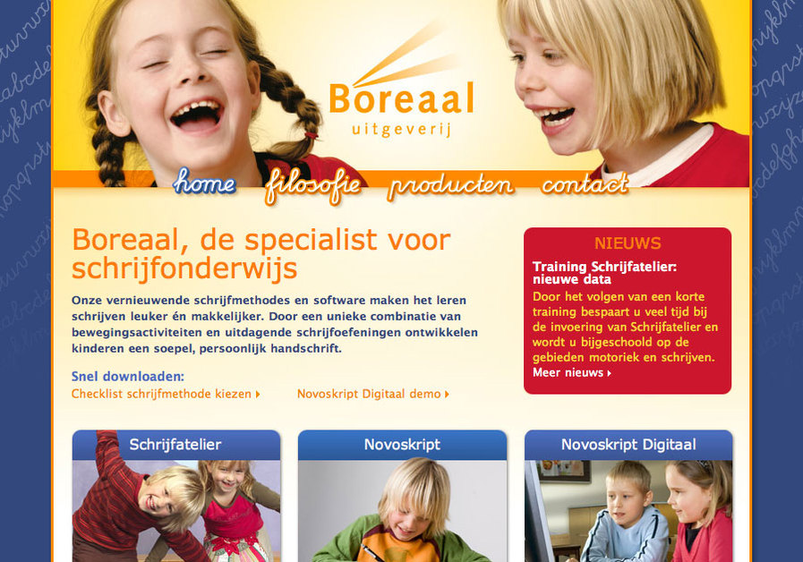 A great web design by PiMZ.com, Alkmaar, Netherlands: