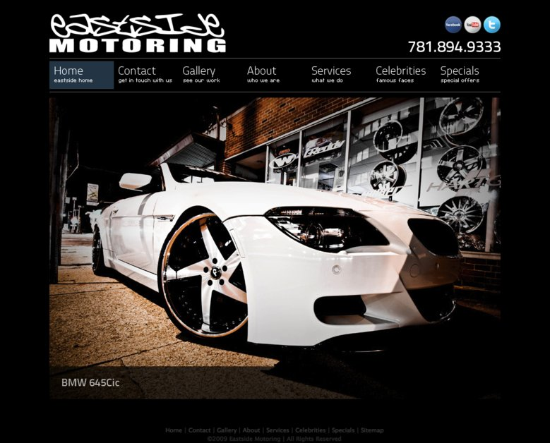 A great web design by Socialite Studios, Boston, MA: