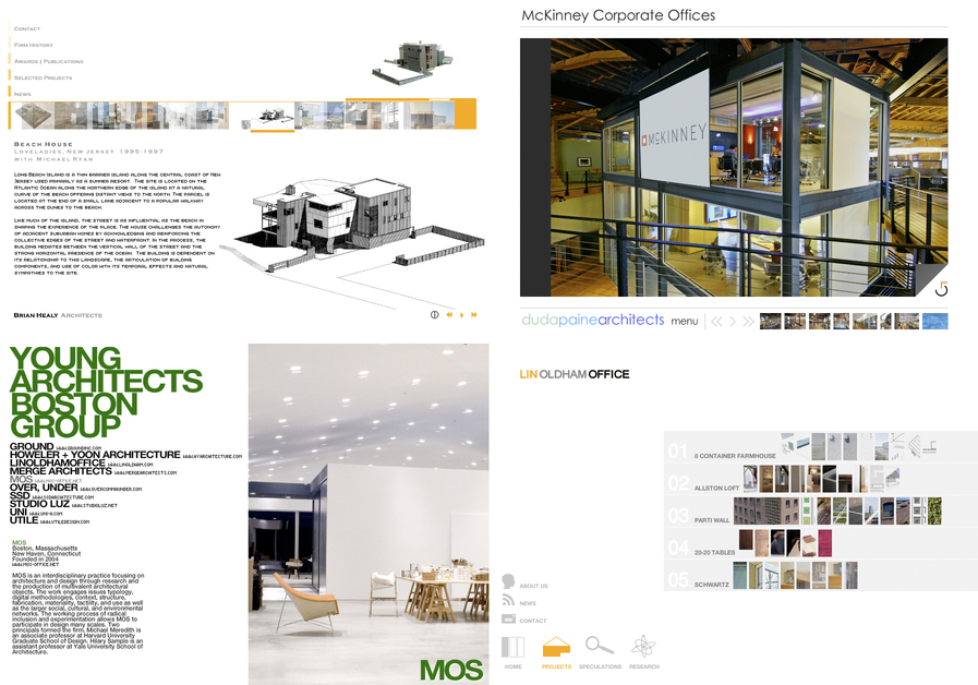 A great web design by 67a2 media: architecture, Boston, MA: