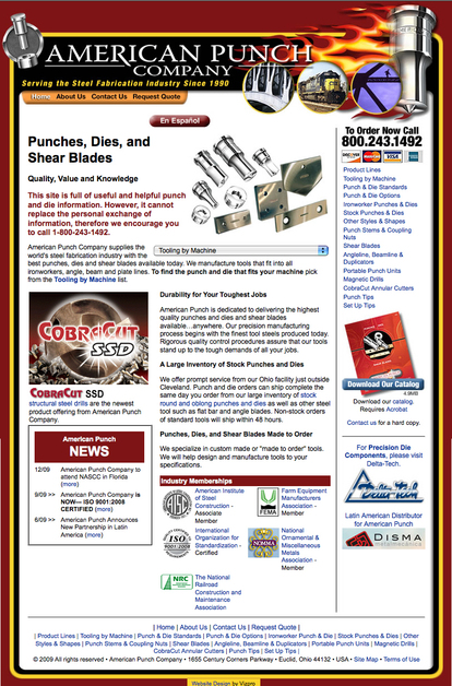 A great web design by Vizpro - David Faroo, Cleveland, OH:
