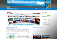 A great web design by Digital Creations: