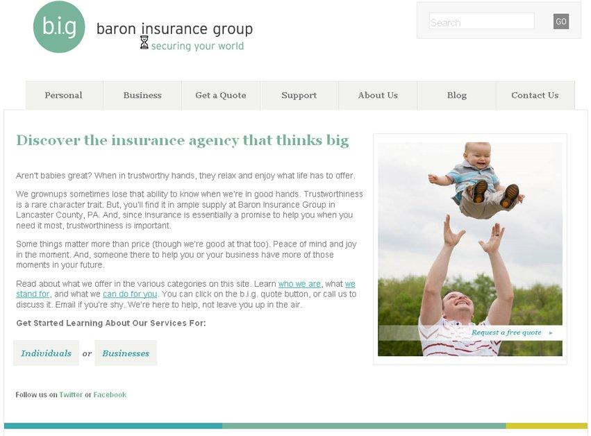 A great web design by Kiwi Marketing Group LLC, Lancaster, PA: