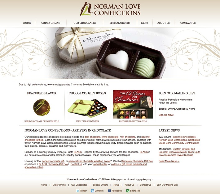 A great web design by Internet Services Group of FL, Fort Myers, FL: