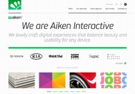 A great web design by Aiken Interactive, San Francisco, CA: