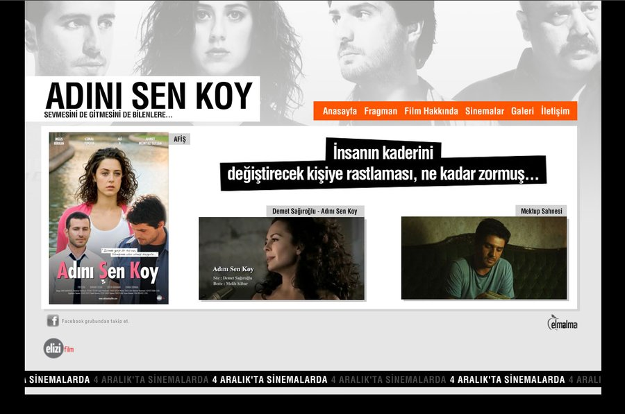 A great web design by elmalma | brand communication services, Istanbul, Turkey: